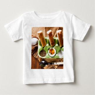 Egg for breakfast. baby T-Shirt