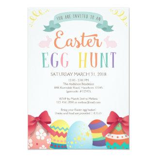 Egg Hunt Invitation, Easter Egg Hunt Invitation