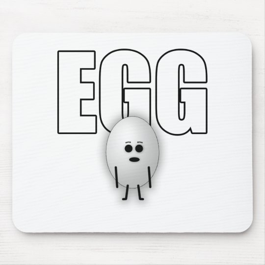 EGG MOUSE MAT