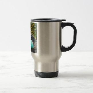 Egg of spring travel mug