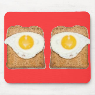 Egg on Toast Mouse Pad