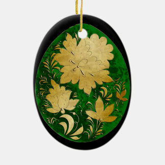 Egg Ornament - Russian Folk Art 19 - BB