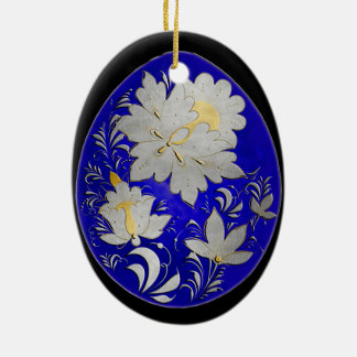 Egg Ornament - Russian Folk Art 28 - BB