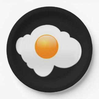 Egg Paper Plate