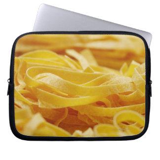 Egg Pasta, Pasta, Tagliatelle, Italian, Raw, Laptop Sleeve