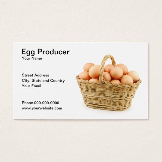 Egg Producer Business Card