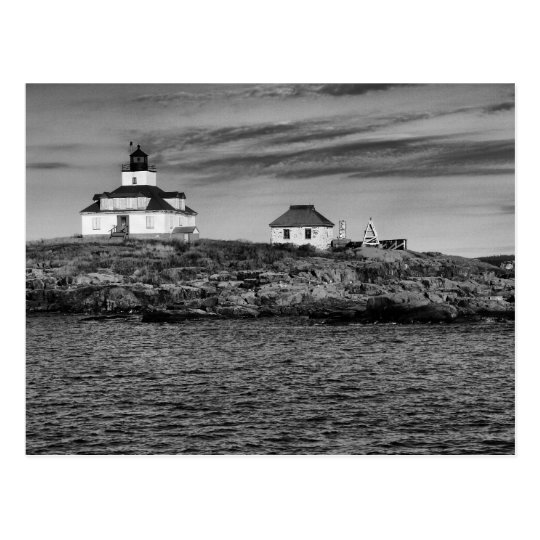 Egg Rock Lighthouse Maine-Postcard Postcard