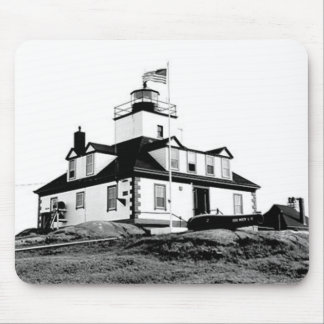 Egg Rock Lighthouse Mouse Pad