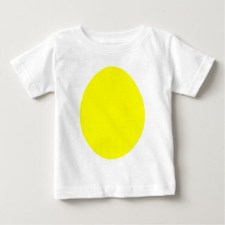 Egg Solid Yellow jGibney The MUSEUM Zazzle Gifts Tshirts