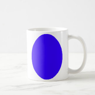Egg SolidBlue The MUSEUM Zazzle Gifts Coffee Mug