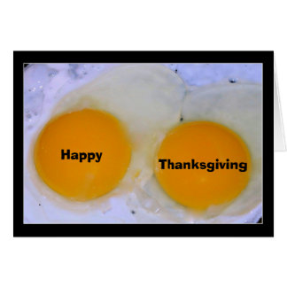 Egg-stra Special Thanksgiving Greeting Card