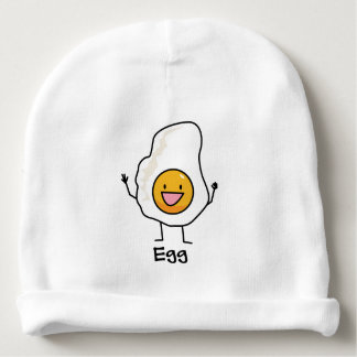 Egg Sunny-Side Up Happy Eggs Breakfast Baby Beanie