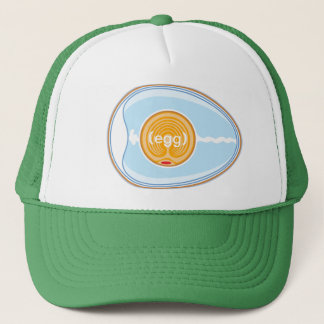 egg trucker hat