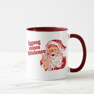 Eggnog Causes Flatulence Mug