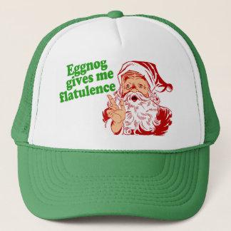 Eggnog Gives Me Flatulence Trucker Hat
