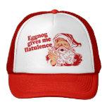 Eggnog Gives Santa Flatulence