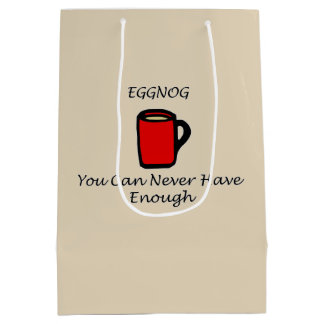 Eggnog Medium Gift Bag