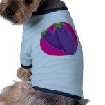 Eggplant Graphic Dog T-shirt