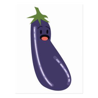 Eggplant Postcard