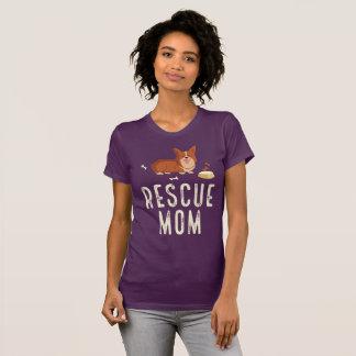 Eggplant Rescue Mom Shirt