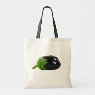 Eggplant Tote Budget Tote Bag