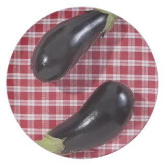 Eggplants Dinner Plates