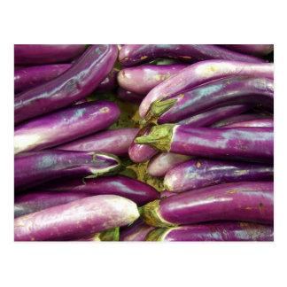 Eggplants Postcard