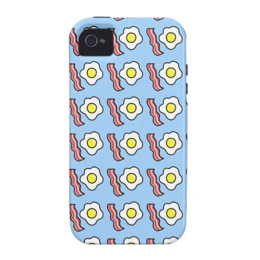 Eggs and Bacon Case-Mate iPhone 4 Covers