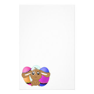 Eggs and Bunny Stationery