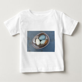 Eggs and feathers baby T-Shirt