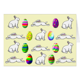 Eggs and Rabbits Card