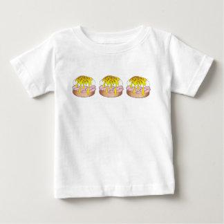 Eggs Benedict Breakfast Diner Food Foodie Ham Baby T-Shirt