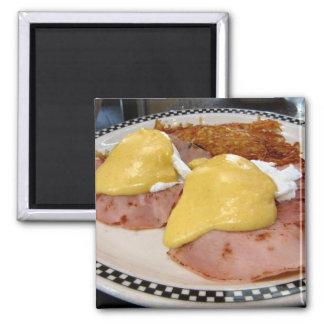eggs benedict magnet