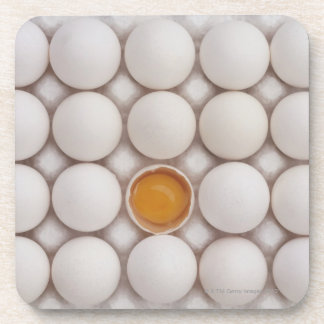 Eggs Beverage Coaster