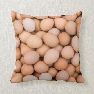 Eggs, Huaraz, Cordillera Blanca, Ancash, Peru Cushion