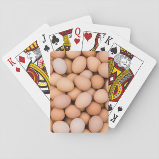 Eggs, Huaraz, Cordillera Blanca, Ancash, Peru Playing Cards