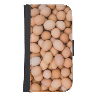 Eggs, Huaraz, Cordillera Blanca, Ancash, Peru Samsung S4 Wallet Case