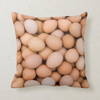 Eggs, Huaraz, Cordillera Blanca, Ancash, Peru Throw Pillow