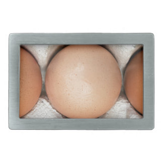 Eggs in a box rectangular belt buckles