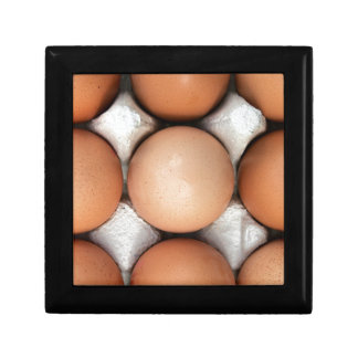 Eggs in a box small square gift box