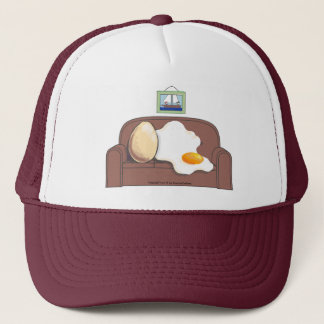 eggs pair trucker hat