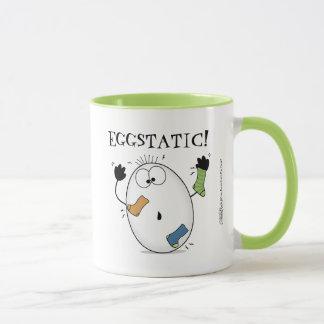 Eggstatic-Ecstatic Egg Mug