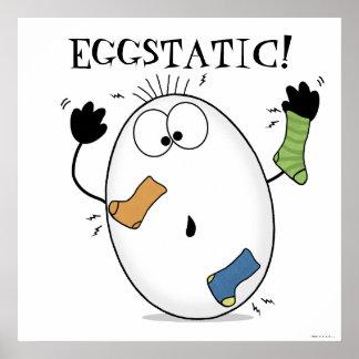 Eggstatic-Ecstatic Egg Print