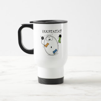 Eggstatic-Ecstatic Egg Stainless Steel Travel Mug
