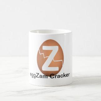 eggZam Cracker Basic White Mug