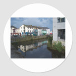 Eglinton Canal Classic Round Sticker
