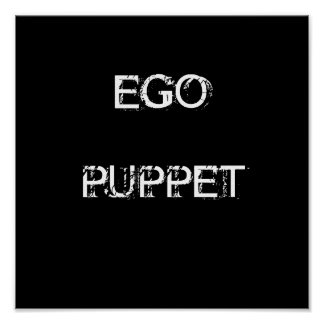 EGO PUPPET POSTER