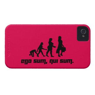 Ego sum, qui sum. 2 Case-Mate iPhone 4 case