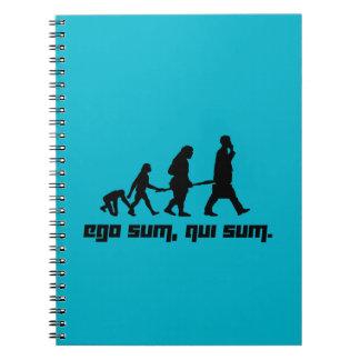 Ego sum, qui sum. notebook