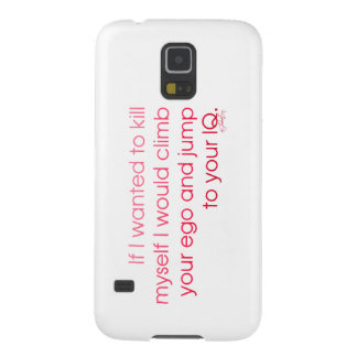 'Ego To IQ' Galaxy S5 Cases